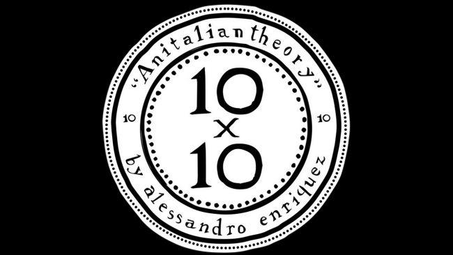 10x10 An Italian Theory embleme