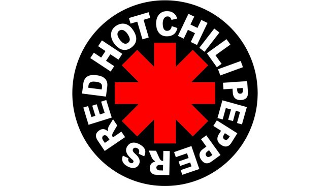 emblème Red hot chili peppers