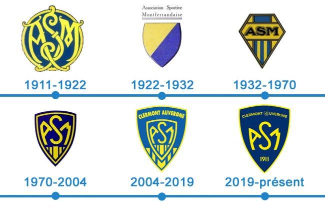 histoire logo ASM