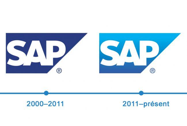 histoire logo Sap