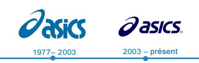 histoire logo Asics