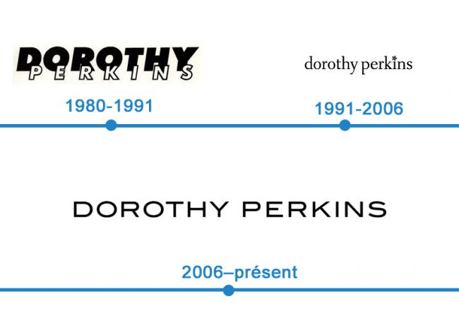 histoire logo Dorothy Perkins