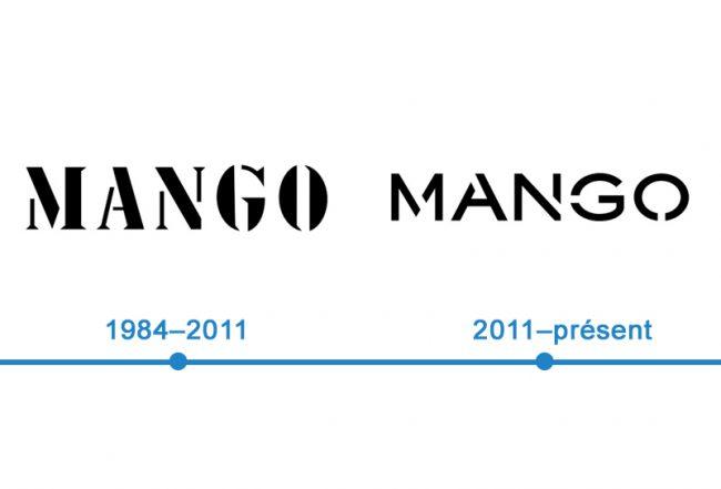 histoire logo Mango