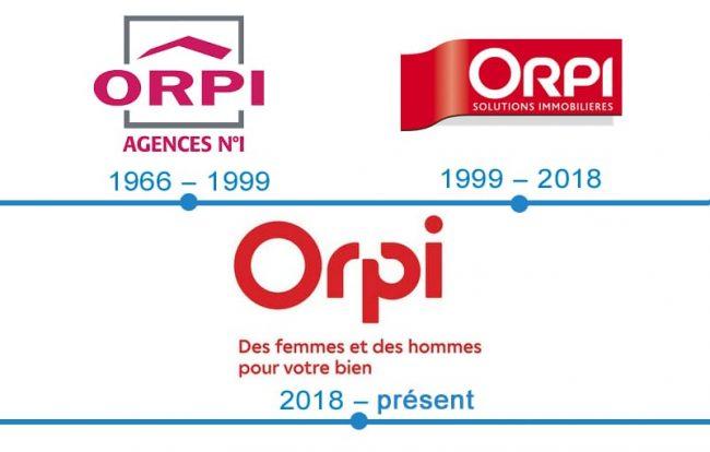 histoire logo Orpi
