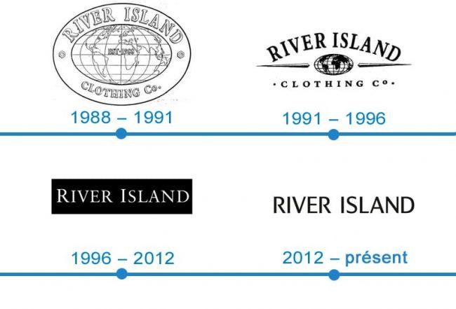 histoire logo River Island