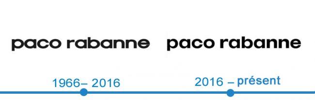 histoire logo Paco Rabanne