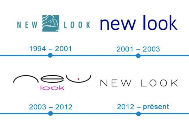 histoire logo New look