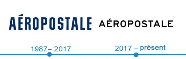 histoire logo Aeropostale