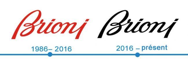 histoire logo Brioni