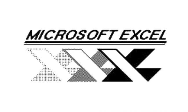 Excel Logo 1985