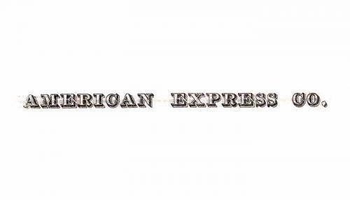 American Express Logo 1953