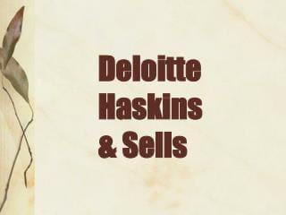 Deloitte Logo 1972