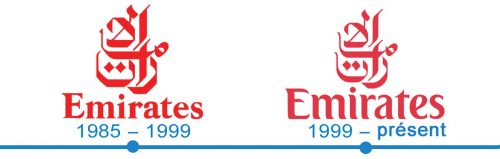 histoire logo Emirats