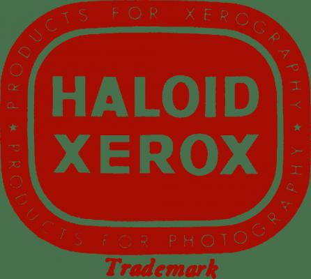 Xerox Logo 1957