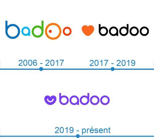 Badoo Logo histoire