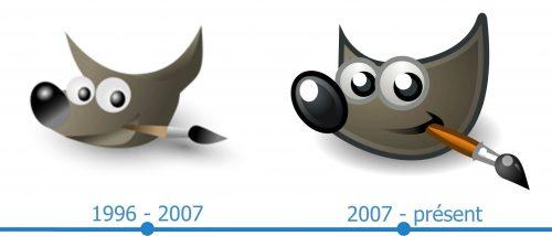 GIMP Logo histoire