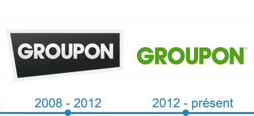 Groupon Logo histoire