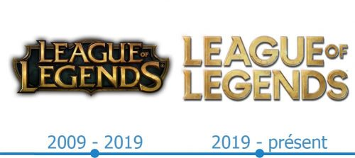 League of Legends Logo histoire