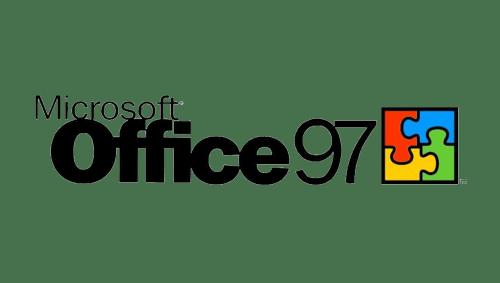 Microsoft Office Logo-1997