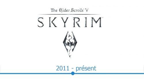 Skyrim Logo histoire