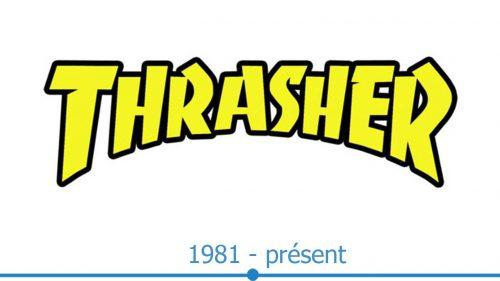 Thrasher Logo histoire