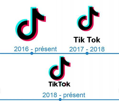 TikTok Logo histoire