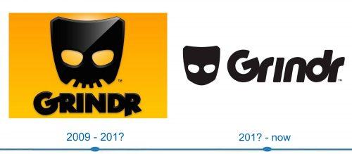 Grindr Logo histoire