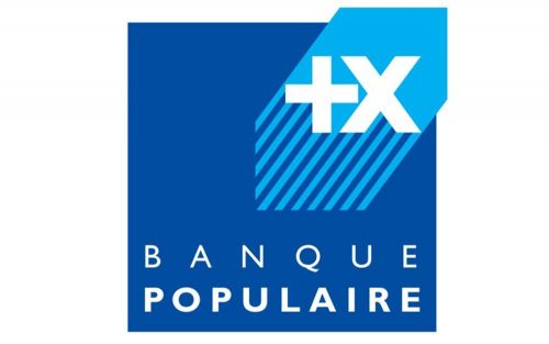 Banque Populaire Logo 1995